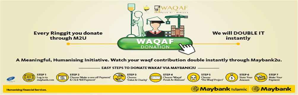 wakaf one to one
